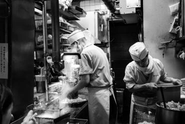 L'antico mercato ittico di Tsukiji a Tokyo